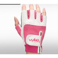 器械锻练哑铃举重护腕单车护具防滑 健身手套女半指运动手套