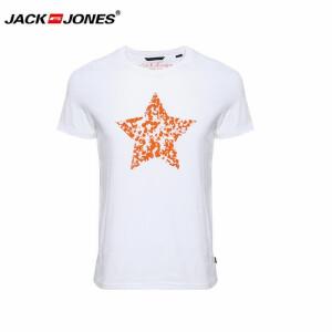 杰克琼斯/JackJones时尚百搭新款T恤 印花T恤-6-5-3-213201059023