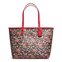 【当当自营】蔻驰(COACH)时尚女士花岗岩丛林花卉手提包双面包斜挎女包  F57669