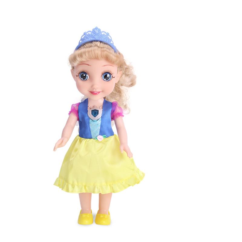 挺逗 冰雪奇缘 艾莎公主会说话唱歌的洋娃娃 女孩玩具 66033