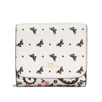 【当当自营】蔻驰(COACH)新款可爱女士对折短款卡包钱包 F59725