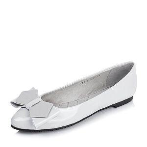 BASTO/百思图专柜同款漆皮牛皮浅口女单鞋TXP22CQ6