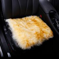 驰航 羊毛汽车坐垫 方垫单片车椅垫冬季新款 羊绒垫单垫