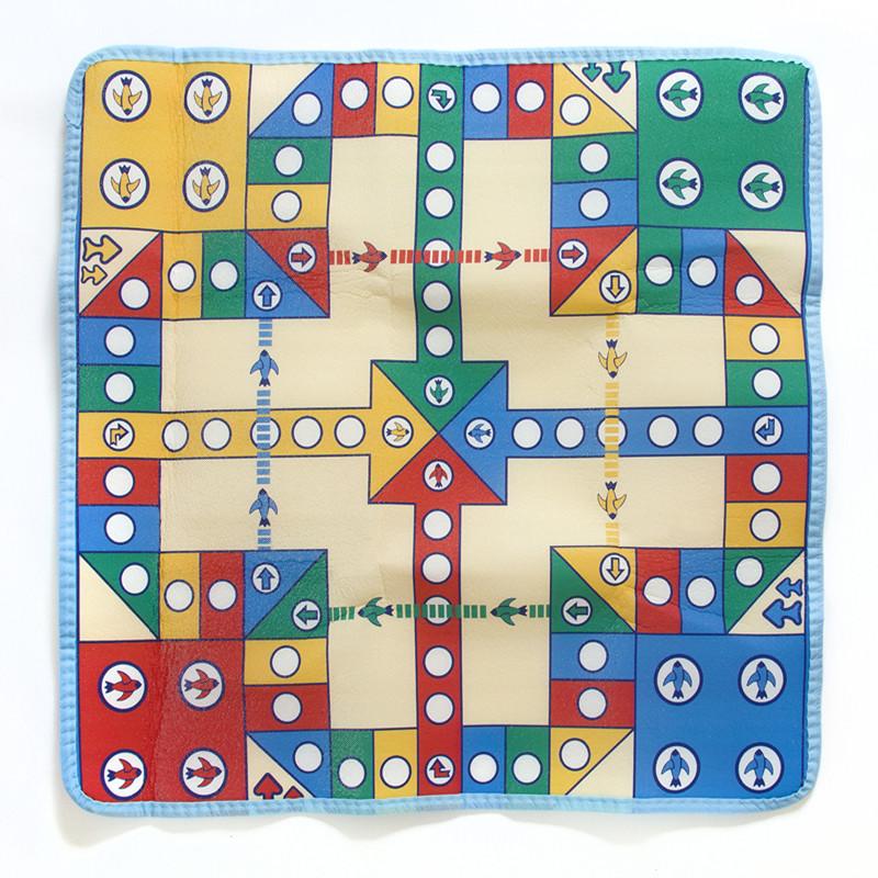 儿童益智飞行棋游戏地毯地垫 爬行毯 亲子两人四人玩