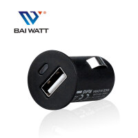 BAI WATT  USB汽车车充车载充电器 点烟器插头 手机电源头