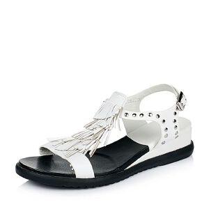 Teenmix/天美意夏季专柜同款羊皮女凉鞋AM92TBL6