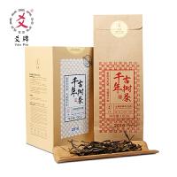 爻牌 千年普洱茶 100克/盒 2016年散生茶