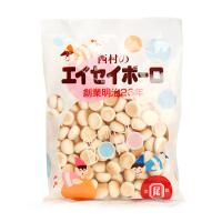 日本西村 原味奶豆高钙小馒头蛋酥 婴儿宝宝磨牙饼干 零食/辅食