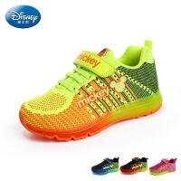disney/迪士尼2016正品新款气垫鞋网面运动鞋男儿童时尚运动鞋秋