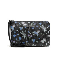 【当当自营】蔻驰(COACH)新款时尚女士零钱包手腕包钱包   F57573