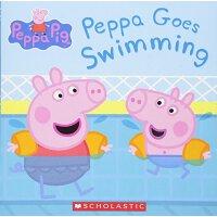 粉红猪小妹:去游泳【现货】英文原版童书 Peppa Goes Swimming 小猪佩奇