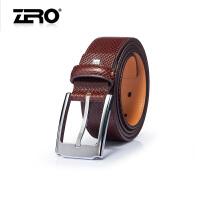 零度尚品 新款皮带 潮流针扣男士腰带 商务裤腰带 P1509