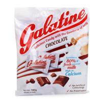 意大利进口Galatine阿拉丁巧克力味牛奶片 佳乐锭奶糖100g 不上火