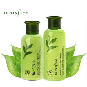 Innisfree绿茶平衡水乳单品200ml+160ml
