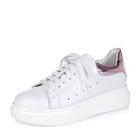 Teenmix/天美意秋女单鞋268-6CM6小白鞋运动鞋女小白鞋女 鞋子女 春夏新品 女鞋 单鞋