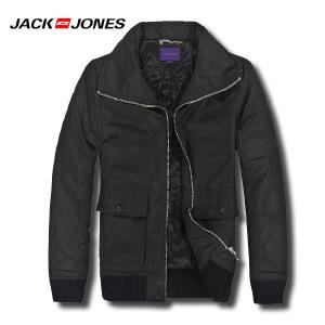杰克琼斯秋冬季男士商务修身翻领百搭外套29-5-1-211422030010