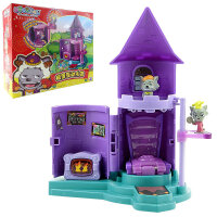 奥迪双钻(AULDEY) 喜洋洋与灰太狼 儿童玩具套装 狼堡互动乐园591102
