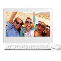 联想(Lenovo)扬天S800 24英寸办公家用一体机电脑 G3260 4G内存 1T硬盘 DVD 2G独显 Win7相框式底座白色官方标配