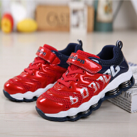 19.5cm~23.5cm巴布豆童鞋 男童鞋2016夏季新款透气弹簧鞋镂空休闲鞋男童运动鞋
