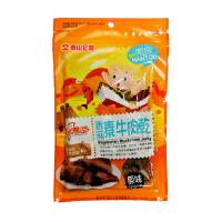 [当当自营] 台湾地区进口 泰山 素牛肉干味香菇片(原味) 75g