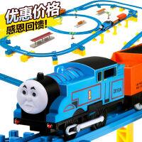 轨道车托马斯小火车玩具 音乐大型电动轨道车套装男孩玩具