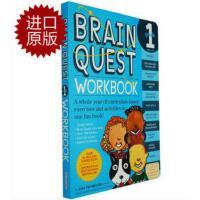 【现货】英文原版Brain Quest Workbook: Grade 1儿童智力开发系列 1年级练习册