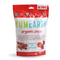 美国Yummy Earth天然棒棒糖 儿童宝宝零食 进口零食品 水果味