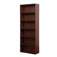 [当当自营]慧乐家 书柜书架 鲁比克L60六层书架 组合柜子层架储物柜收纳柜置物柜 深红樱桃木色11307