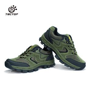 tectop/探拓男女情侣款户外登山鞋防滑减震爬山徒步鞋 登山鞋PJ6395- PJ6396