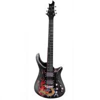 支持货到付款 电声吉他 电吉他 电六弦琴 主动拾音+内置重金属效果器 MB-11