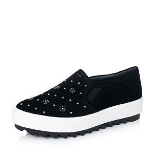 BATA/拔佳羊绒皮女休闲鞋AP320CM6