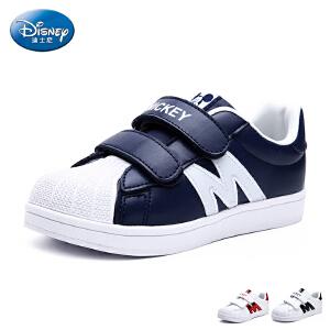 迪士尼童鞋儿童运动鞋2017春夏新款中大童小白鞋亲子鞋男童女童鞋 DS2264
