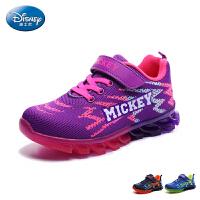 迪士尼童鞋2017年小童运动鞋儿童旅游鞋男女童��力刀锋鞋学生鞋ds2283