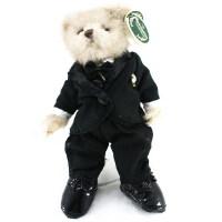 [当当自营]贝瑞 黑色西装泰迪熊 男款 8寸