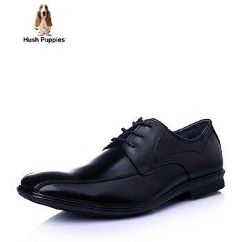 Hush Puppies/暇步士2016春季专柜同款牛皮商务正装男单鞋01374AM6
