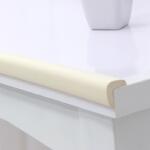 棒棒猪宝宝防撞条儿童安全防护条加厚加宽型2米装 米白色