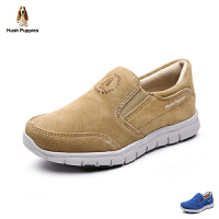 暇步士Hush Puppies童鞋男童运动鞋反绒面皮轻底休闲鞋时尚学生鞋中大童户外鞋DP9050