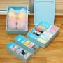 欧润哲 3件装 内衣收纳盒 抽屉衣柜可叠加整理箱 内裤袜子收纳箱