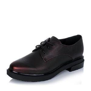 BASTO/百思图专柜同款擦色山羊皮女单鞋TXQ20CM6
