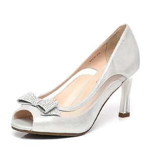 Belle/百丽专柜同款春季时尚女鞋BIT32AU6