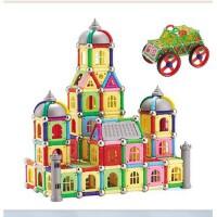 【益智玩具】 科博玩具 磁力宝贝棒 400件(儿童益智磁性积木拼装玩具 三色随机)KB-400 桶装 儿童益智玩具 3岁以上 磁性积木 5.14-5.21当当网儿童节 给孩子的大惊喜>>