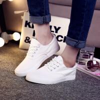 【包邮】2016新款白色鞋子小白鞋夏帆布鞋女平底板鞋学生布鞋女款单鞋MSM支持货到付款
