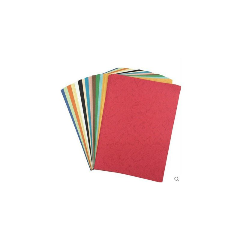 儿童手工制作diy材料 230克彩色皮纹纸