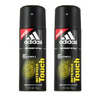adidas阿迪达斯男士香体止汗喷雾150ml2支套装(原装进口版) 触感