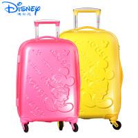 迪士尼拉杆箱米奇学生拉箱密码箱万向轮女登机箱儿童旅行箱