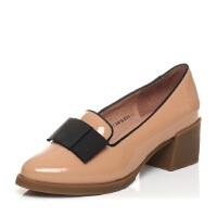 Tata/他她 春季专柜同款牛皮女单鞋2Q901AQ5
