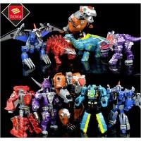 儿童玩具变形机器人金刚4 恐龙合体五合一变世恐龙修罗王恐龙合体