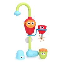 幼奇多儿童洗澡玩具 宝宝洗澡玩具喷水花洒 男孩戏水玩水玩具电动