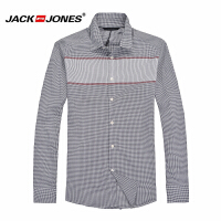 杰克琼斯商务休闲百搭衬衫18-3-2-213105030070