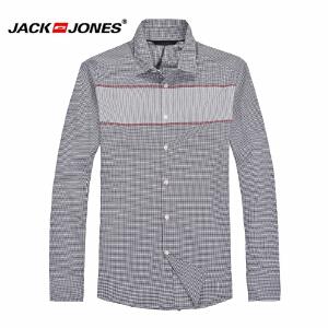 杰克琼斯 秋季 男士长袖衬衫 衬衣18-3-2-213105030070